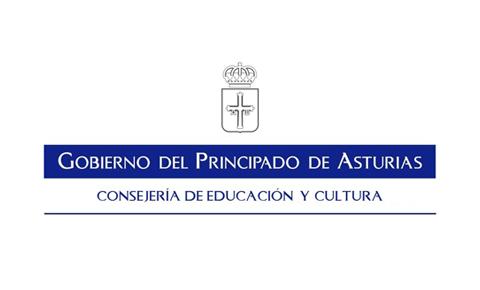 Logotipo de la Consejería de educación y cultura del Principado de Asturias