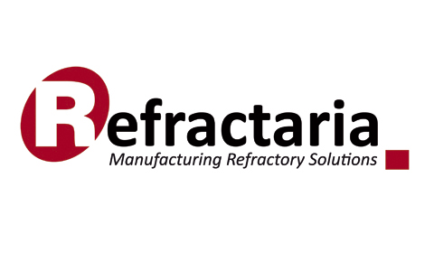 Logotipo de Refractaria, patrocinador de la fundación Marino Gutiérrez