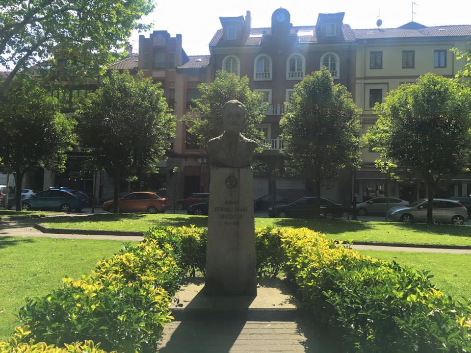 Escultura de Marino Gutiérrez Suárez