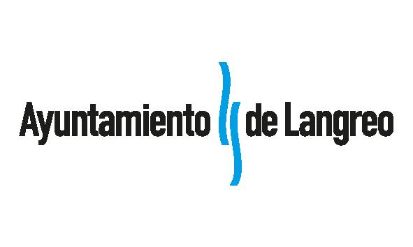 Logotipo del Ayuntamiento de Langreo, colaborador de la fundación Marino Gutiérrez